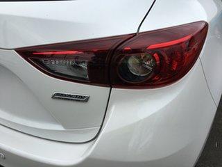 2016 Mazda 3 BM5438 SP25 SKYACTIV-Drive White 6 Speed Sports Automatic Hatchback