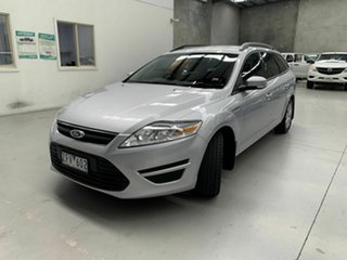2010 Ford Mondeo MC LX PwrShift TDCi Silver 6 Speed Sports Automatic Dual Clutch Wagon.