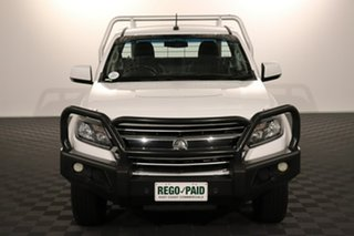 2016 Holden Colorado RG MY16 LS White 6 speed Automatic Cab Chassis.