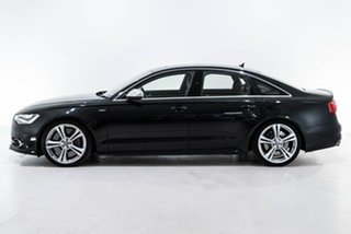 2012 Audi S6 4G MY13 S Tronic Quattro Black 7 Speed Sports Automatic Dual Clutch Sedan