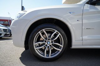 2016 BMW X3 F25 MY17 Update xDrive20d Alpine White 8 Speed Automatic Wagon.