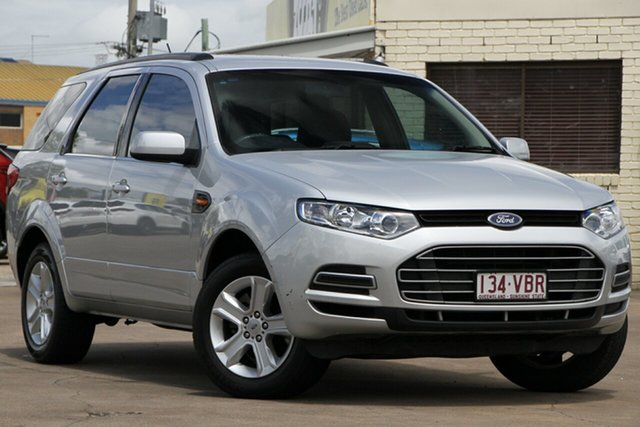 Used Ford Territory SZ TS Seq Sport Shift Bundamba, 2013 Ford Territory SZ TS Seq Sport Shift Silver 6 Speed Sports Automatic Wagon