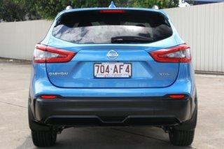 2018 Nissan Qashqai J11 Series 2 ST-L X-tronic Vivid Blue 1 Speed Constant Variable Wagon