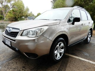 2014 Subaru Forester S4 MY14 2.5i Lineartronic AWD Burnished Bronze 6 Speed Constant Variable Wagon