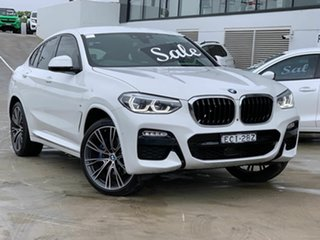 2019 BMW X4 G02 xDrive30i Coupe Steptronic M Sport White 8 Speed Sports Automatic Wagon.