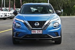 2020 Nissan Juke F16 ST-L DCT 2WD Vivid Blue 7 Speed Sports Automatic Dual Clutch Hatchback.