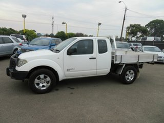 2011 Nissan Navara D40 RX (4x4) White 6 Speed Manual King Cab Chassis