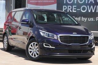2018 Kia Carnival YP PE MY19 S Blue 8 Speed Automatic Wagon.