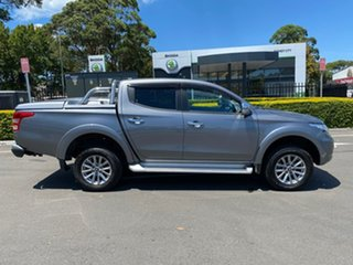 2018 Mitsubishi Triton MQ MY18 GLS Double Cab Grey 5 Speed Sports Automatic Utility