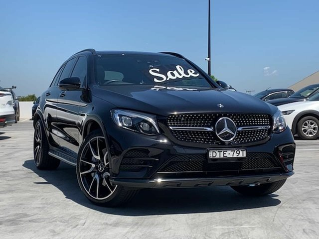 Used Mercedes-Benz GLC-Class X253 808MY GLC43 AMG 9G-Tronic 4MATIC Liverpool, 2017 Mercedes-Benz GLC-Class X253 808MY GLC43 AMG 9G-Tronic 4MATIC Black 9 Speed Sports Automatic