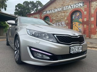 2013 Kia Optima TF MY13 Platinum Silver 6 Speed Sports Automatic Sedan.