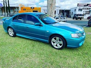 2007 Ford Falcon BF Mk II XR6 Blue 4 Speed Sports Automatic Sedan