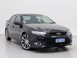 2012 Ford Falcon FG MK2 XR6T Limited Edition Black 6 Speed Auto Seq Sportshift Sedan.