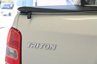 2016 Mitsubishi Triton MQ MY17 GLX Double Cab White 5 Speed Sports Automatic Cab Chassis