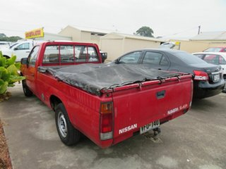 1991 Nissan Navara Red 4 Speed Automatic Utility