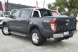 2016 Ford Ranger PX MkII XLT Double Cab Grey 6 Speed Manual Utility