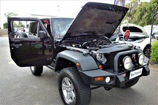 2012 Jeep Wrangler JK MY2012 Rubicon Black 6 Speed Manual Softtop