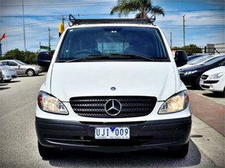 2006 Mercedes-Benz Vito 639 109CDI White Manual Van.