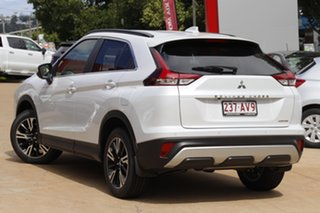 2020 Mitsubishi Eclipse Cross YB MY21 Aspire 2WD White Diamond 8 Speed Constant Variable Wagon.