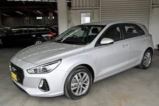 2017 Hyundai i30 PD MY18 Active D-CT Silver 7 Speed Sports Automatic Dual Clutch Hatchback