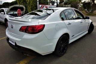 2013 Holden Commodore VF MY14 SS V Redline White 6 Speed Manual Sedan.