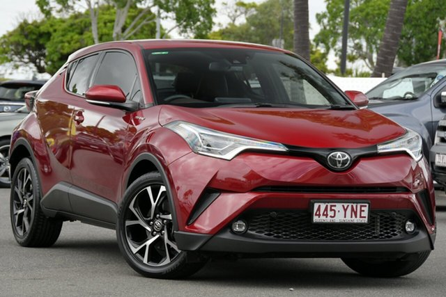 Used Toyota C-HR NGX10R Koba S-CVT 2WD North Lakes, 2018 Toyota C-HR NGX10R Koba S-CVT 2WD Atomic Rush 7 Speed Constant Variable Wagon
