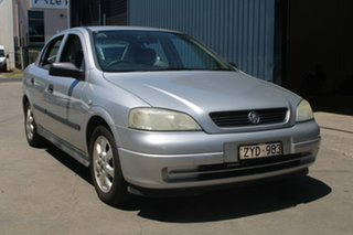 2005 Holden Astra TS Classic Silver 4 Speed Automatic Sedan.