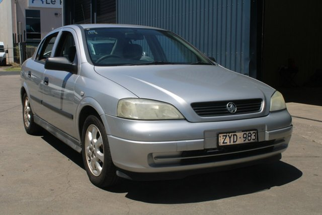Used Holden Astra TS Classic West Footscray, 2005 Holden Astra TS Classic Silver 4 Speed Automatic Sedan