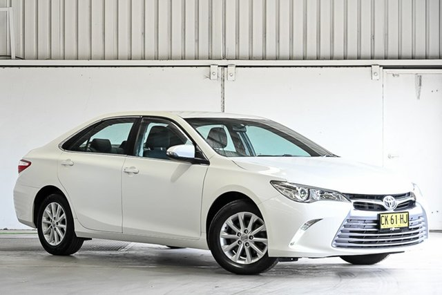 Used Toyota Camry ASV50R Altise Laverton North, 2016 Toyota Camry ASV50R Altise White 6 Speed Sports Automatic Sedan