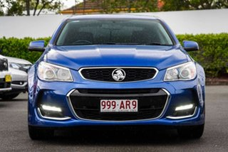 2016 Holden Commodore VF II MY16 SV6 Blue 6 Speed Sports Automatic Sedan