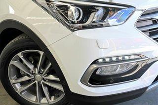 2017 Hyundai Santa Fe DM3 MY17 Highlander White 6 Speed Sports Automatic Wagon.