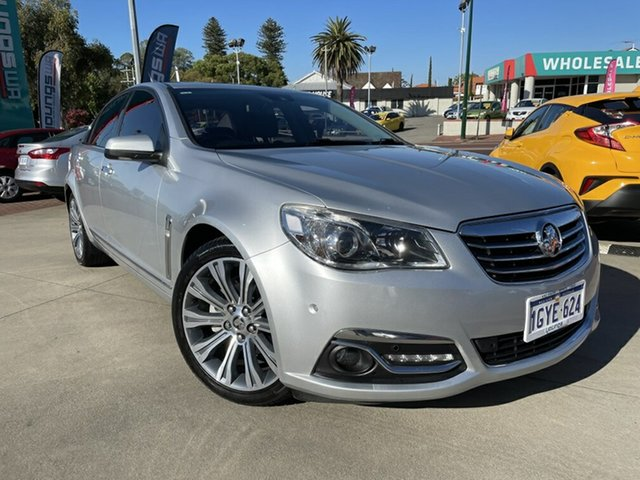 Used Holden Calais VF MY14 Victoria Park, 2014 Holden Calais VF MY14 Silver 6 Speed Sports Automatic Sedan