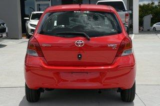 2011 Toyota Yaris NCP130R YR Red 5 Speed Manual Hatchback