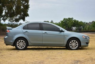 2010 Mitsubishi Lancer CJ MY11 SX Silver 5 Speed Manual Sedan
