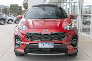 2018 Kia Sportage QL MY19 GT-Line AWD Red 6 Speed Sports Automatic Wagon.