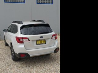 2019 Subaru Outback MY18 2.5i AWD White Continuous Variable Wagon.