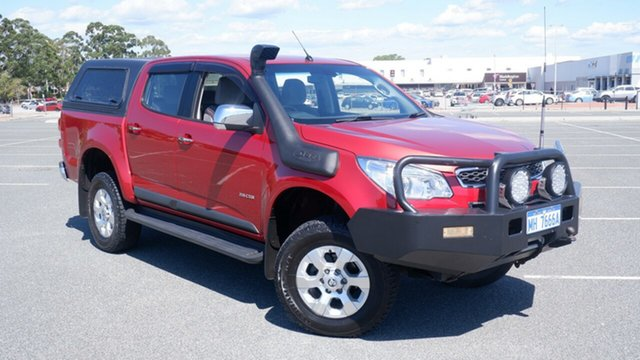 Used Holden Colorado RG MY13 LTZ Crew Cab Maddington, 2012 Holden Colorado RG MY13 LTZ Crew Cab Burgundy 5 Speed Manual Utility