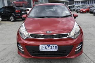 2015 Kia Rio UB MY16 S-Premium Red 4 Speed Sports Automatic Hatchback.