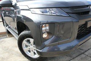 2020 Mitsubishi Triton MR MY21 GLX+ Double Cab Graphite Grey 6 Speed Sports Automatic Utility.