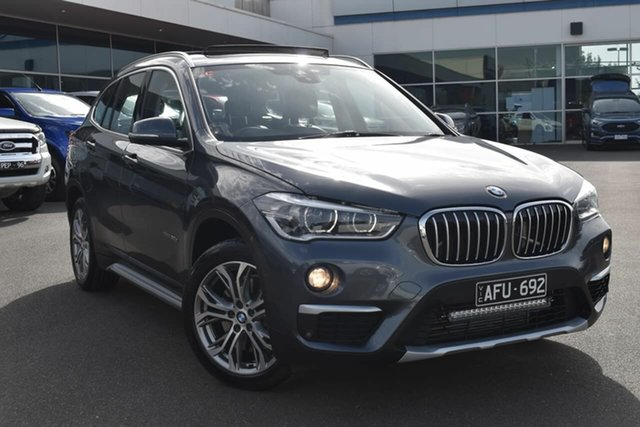 Used BMW X1 F48 xDrive20d Steptronic AWD Essendon Fields, 2015 BMW X1 F48 xDrive20d Steptronic AWD Grey 8 Speed Sports Automatic Wagon
