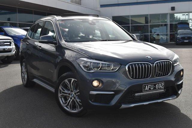 Used BMW X1 F48 xDrive20d Steptronic AWD Essendon Fields, 2015 BMW X1 F48 xDrive20d Steptronic AWD Grey 8 Speed Sports Automatic Wagon