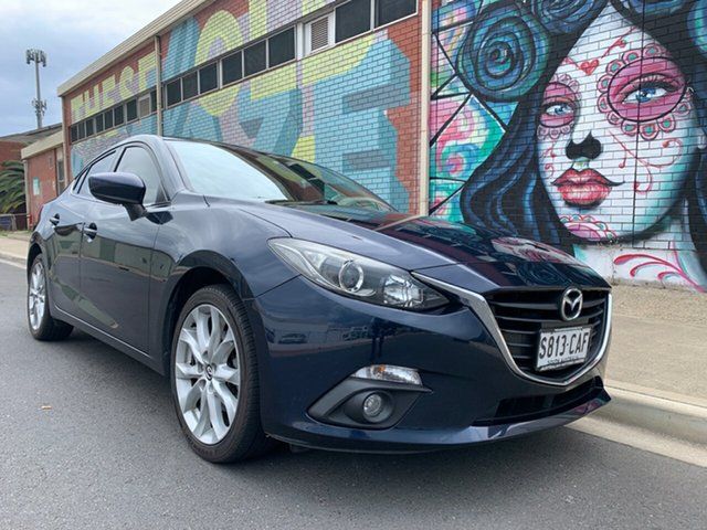 Used Mazda 3 BM5236 SP25 SKYACTIV-MT Cheltenham, 2014 Mazda 3 BM5236 SP25 SKYACTIV-MT Blue 6 Speed Manual Sedan