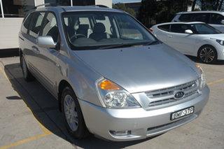 2009 Kia Grand Carnival VQ Platinum Silver 5 Speed Sports Automatic Wagon.