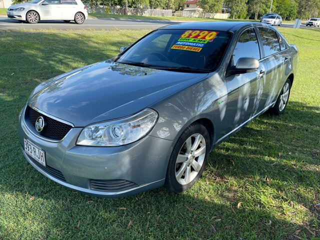 Used Holden Epica EP MY10 CDX Clontarf, 2010 Holden Epica EP MY10 CDX Silver 6 Speed Sports Automatic Sedan