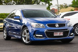 2016 Holden Commodore VF II MY16 SV6 Blue 6 Speed Sports Automatic Sedan.