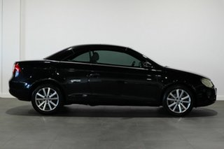 2008 Volkswagen EOS 1F MY09 147TSI DSG Black 6 Speed Sports Automatic Dual Clutch Convertible