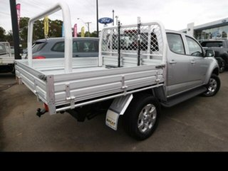 2016 Holden Colorado RG MY16 LT (4x4) Silver 6 Speed Automatic Crew Cab Pickup