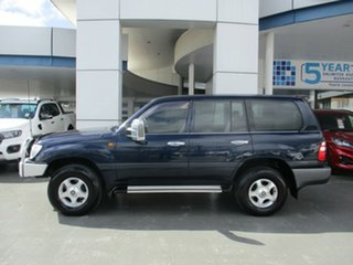 2003 Toyota Landcruiser UZJ100R GXL (4x4) Blue 5 Speed Automatic Wagon.
