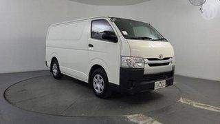2015 Toyota HiAce KDH201R MY14 LWB Vanilla White 4 Speed Automatic Van.