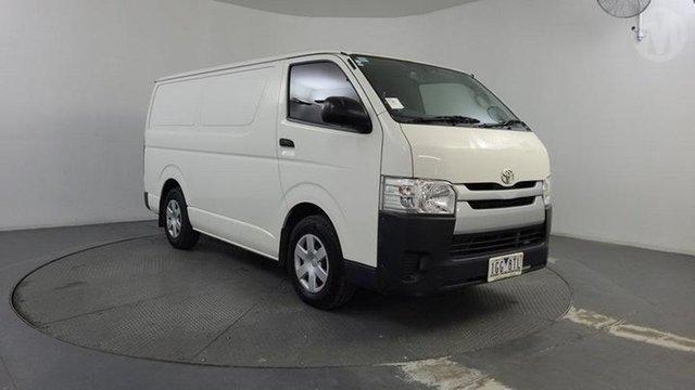 Used Toyota HiAce KDH201R MY14 LWB Altona North, 2015 Toyota HiAce KDH201R MY14 LWB Vanilla White 4 Speed Automatic Van